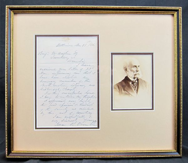 Original Photograph and Letter of Confederate General Isaac R ...