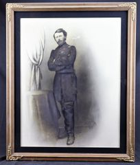 Charcoal of Union Officer