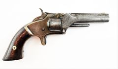 Smith & Wesson 1st model - 2nd Issue Revolver / SOLD