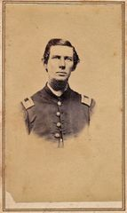 Captain John M. Kent, Company I, 8th Regiment PRVC Wounded Wilderness
