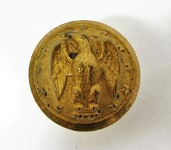 Confederate Officer's Button