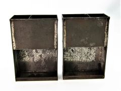 Pair of .58 Caliber Cartridge Box Tins