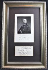 General George Gordon Meade Autograph