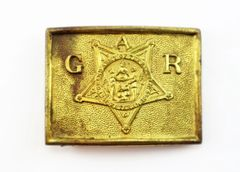 Grand Army of the Republic Belt Plate