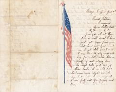 Civil War Letter and CDV Identified to Bandsmen George Bills of the PA 7th and 136th Infantry