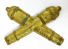 Officer's Crossed Cannon Insignia