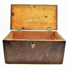 "Identified Soldiers Box George W. Goodwin Company ""E"" 1st Mass. Heavy Artillery"