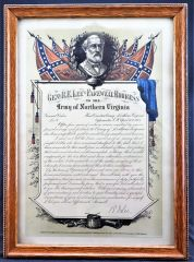 General Robert E. Lee's Farewell Address General Orders #9