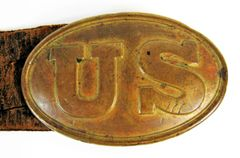 US Plate with Belt