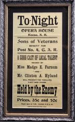GAR Playbill Held by the Enemey