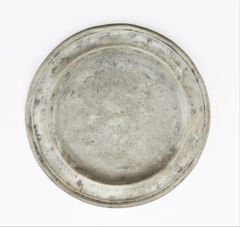 Civil War Pewter Plate