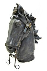 Civil War Officer's Headstall and Bit with Interwined U.S.A. Rosettes