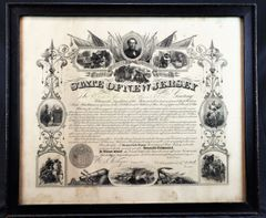State of New Jersey Certificate of Service