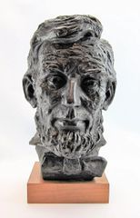 Portrait Bust Of President Abraham Lincoln