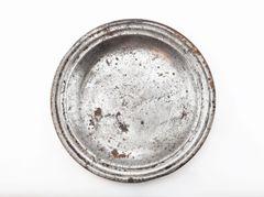 Civil War Tin Mess Plate