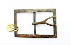 """Confederate """"Forked Tongue"""" Buckle / SOLD"""