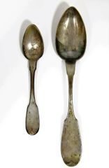 Hyde And Goodrich Sterling Silver Spoons