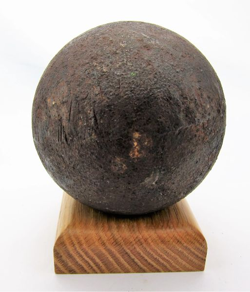 12 Pound Solid Shot Cannonball Civil War Artifacts For