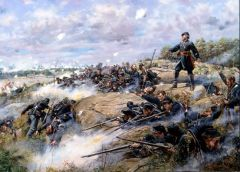 Don Troini Don't Give An Inch, Gettysburg July 2, 1863