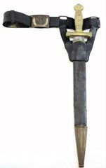 Model 1832 Short Artillery Sword and Belt