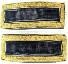 2nd Infantry Shoulder Bars