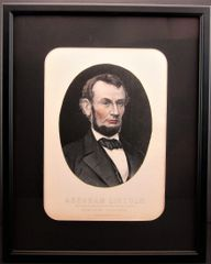 President Lincoln - Mourning Portrait