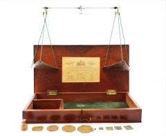 Gold & Apothecary Scales