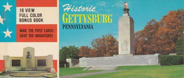 Gettysburg Souvenir Historic Postcards