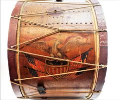 Civil War Eagle Bass Drum