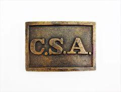 CSA Rectangular Sword Belt