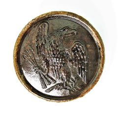 Eagle Breast Plate Recovered from Cold Harbor