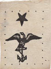 Civil War Federal Navy Uniform Insignia - Summer Dress