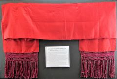 Confederate General's Sash Worn by Brigadier General Jeptha Vining Harris