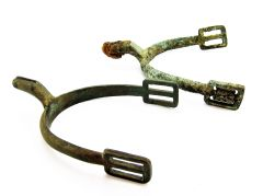 Pair of Spurs from the Gettysburg Battlefield