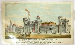 Libby Prison War Museum Postcard