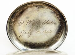 Inscribed Silver Pocket Watch / On-hold