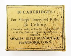Sharp's Carbine Ammunition Box