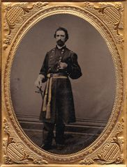 General William Jay Smith Quarter Plate Tintype