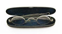 Civil War Eyeglasses with Case
