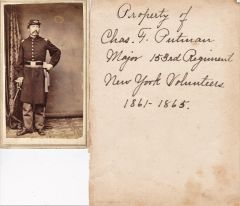 153rd New York Volunteer CDV Album