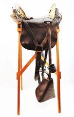 Model 1859 McClellan saddle - Allegheny Arsenal - Dated 1863