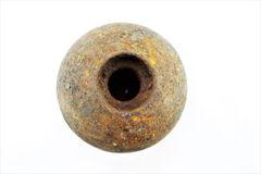 Confederate Cannonball from Gettysburg Original Confederate 12 Pound Shell