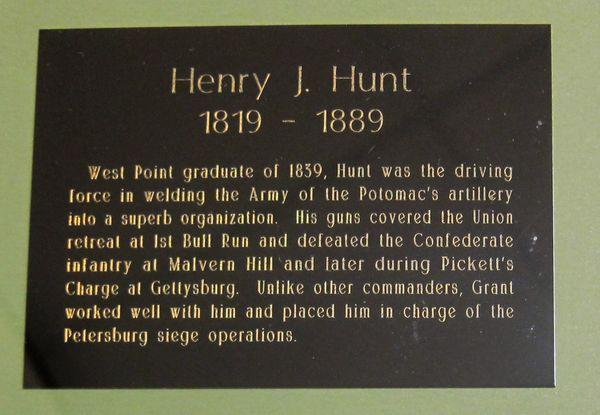 Henry J. Hunt Autographed Mili...