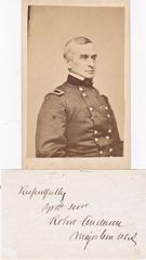 General Robert Anderson CDV and Autograph