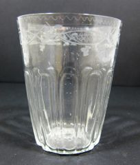 Revolutionary War Era Drinking Glass