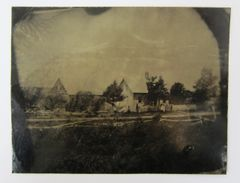 Civil War Outdoor Tintype
