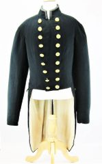 U.S. Civil War Model 1852 Navy Officer's Swallowtail Waistcoat