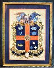Military Escutcheon 10th Massachusetts Volunteer Infantry