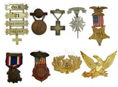 Medals Belonging To John Schuhardt Of The 21st New Jersey
