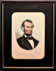 Abraham Lincoln - Mourning Portrait